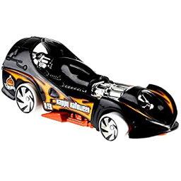 【中古】【輸入品・未使用未開封】Hot Wheels ハロウィン 2019 ダイカストメタル車両シリーズ 6/6 GBC60 パワーロケット - ブラックレースカーオレンジの炎