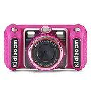 【中古】【輸入品・未使用未開封】VTech KidiZoom Duo DX デジタル自撮りカメラ MP3プレーヤー付き ピンク