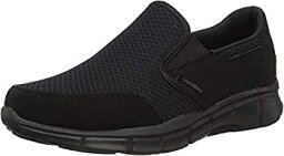 【中古】【輸入品・未使用未開封】Skechers Men's Equalizer Persistent Slip-On Sneaker Black 8.5 XW US