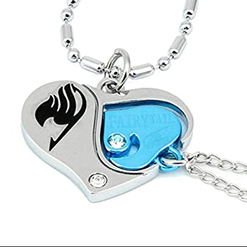 【中古】【輸入品・未使用未開封】Cos-me Fairy Tail Cosplay Lovers Heart Necklace Pendant Accessories画像