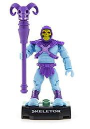 【中古】【輸入品・未使用未開封】Mega Construx Heroes Series 1 Masters of the Universe Skeletor Figure