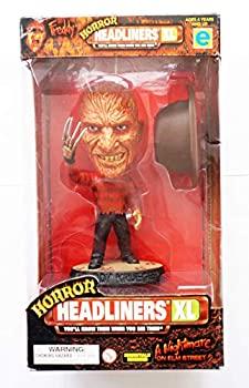 【中古】【輸入品・未使用未開封】1999 - Equity Marketing - Horror Headliners XL - A Nightmare On Elm Street - Freddy Krueger Figure - 6 Inches - w/ COA -画像