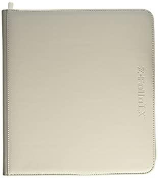 【中古】【輸入品・未使用未開封】BCW Z-Folio LX Zipper Portfolio White 12 Pocket Playset Album画像