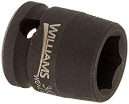 【中古】【輸入品・未使用未開封】Williams 36513 13mm 浅い6ポイントインパクトソケット。