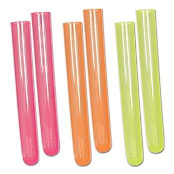 キッチン用品・食器・調理器具, その他 Test Tube Shots (Asstd Colors) (6? Pkg)