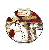 【中古】【輸入品・未使用未開封】Range Kleen Burner Kovers Stove Top Covers Italian Chef Set of 4