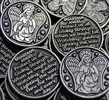 おもちゃ, その他 Set of 10 Guardian Angel Pocket Token Coins by Before After LLC