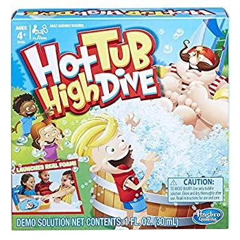 【中古】【輸入品・未使用未開封】Hasbro Gaming Hot Tub High Dive Game With Bubbles For Kids Board Game For Boys and Girls Ages 4 and Up E1919 [並行輸入品]画像
