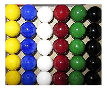 【中古】【輸入品・未使用未開封】30 new Solid Color Replacement Marbles Wahoo Aggravation Board game GLASS Wa Hoo [並行輸入品]画像