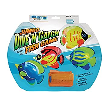 【中古】【輸入品・未使用未開封】Poolmaster 72536 Jumbo Dive 'N' Catch Fish Game [並行輸入品]画像