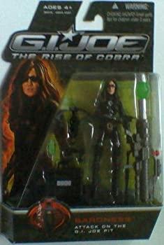 【中古】【輸入品・未使用未開封】G.I.ジョー ベーシックフィギュア コレクション1 バロネス G. I. JOE The Rise of Cobra Baroness Action Figure [並行輸入品]画像
