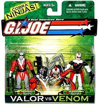 【中古】【輸入品・未使用未開封】G. I. JOE Hasbro Valor Vs. Venom 3 3/4 Scale 2Pack Cobra Slash & Cobra Slice [並行輸入品]画像
