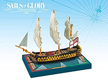 【中古】【輸入品・未使用未開封】Sails of Glory Ship Pack - Hms Queen Charlotte 1790 Board Game [並行輸入品]画像