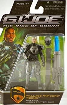 【中古】【輸入品・未使用未開封】G.I. Joe The Rise of Cobra Movie Action Figure%カンマ% Wallace %ダブルクォーテ%Ripcord%ダブルクォーテ% Weems (Delta-6 Accelerator Suit)%カンマ% 3.75 In画像