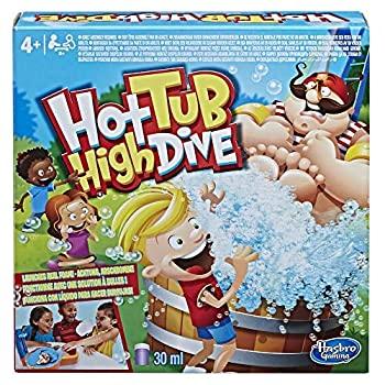 【中古】【輸入品・未使用未開封】Games Hasbro Gaming Hot Tub High Dive with Bubbles for Kids Board [並行輸入品]画像