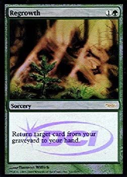 おもちゃ, その他 Magic: the Gathering - Regrowth Foil - DCI Judge Rewards - Judge Promos - Foil By Wizards of the Coast