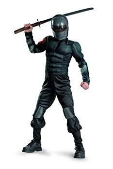 【中古】【輸入品・未使用未開封】G.i. Joe Retaliation Snake Eyes Classic Muscle Costume [並行輸入品]画像
