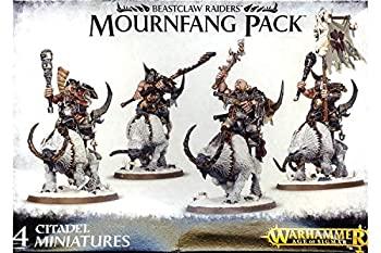 おもちゃ, その他 Age of Sigmar Warhammer Beastclaw Raiders Mournfang Pack 95-14