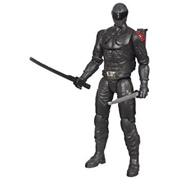 【中古】【輸入品・未使用未開封】G.I. Joe Retaliation Ninja Commando Snake Eyes Figure画像