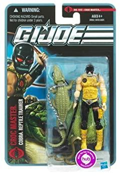 【中古】【輸入品・未使用未開封】G.I. Joe Pursuit of Cobra 3 3/4 Inch Action Figure Croc Master [並行輸入品]画像