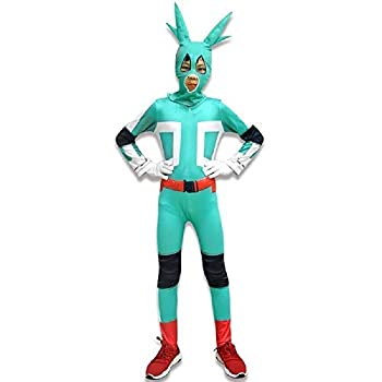 おもちゃ, その他 Boku No Hero My Hero Academia Midoriya Deku Bodysuit Headgear for Boys Girls 130 Green