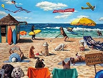 【中古】【輸入品・未使用未開封】Buffalo Games - Art of Play Collection - Dog Days of Summer - 750 Piece Jigsaw Puzzle [並行輸入品]画像