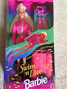 【中古】【輸入品・未使用未開封】Swim 'n Dive Barbie Doll [並行輸入品]画像