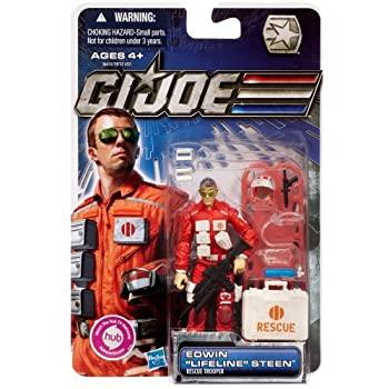 【中古】【輸入品・未使用未開封】G.I. Joe 30th Anniversary 3 3/4 Inch Action Figure Edwin Lifeline Steen Rescu... [並行輸入品]画像