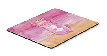 パソコン・周辺機器, その他 Carolines Treasures BB7416MP Pig Watercolor Mouse Pad Hot Pad or Trivet Large Multicolor