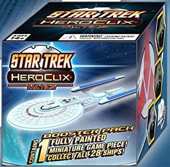 【中古】【輸入品・未使用未開封】Star Trek Heroclix: Tactics Booster Pack [並行輸入品]画像