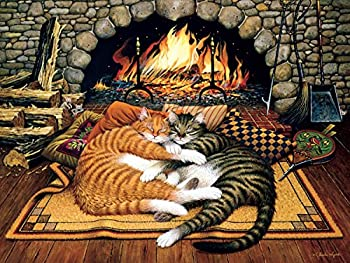 【中古】【輸入品・未使用未開封】Buffalo Games Charles Wysocki Cats: All Burned Out 750 Piece Jigsaw Puzzle by Buffalo Games [並行輸入品]画像