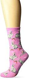 【中古】【輸入品・未使用未開封】ホットソックスWomen 's Bunniesソックス US サイズ: M カラー: ピンク