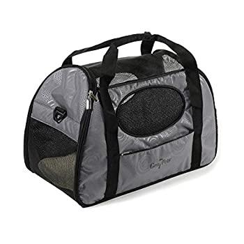 ペット・ペットグッズ, その他 Gen7Pets Carry-Me Fashion Pet Carrier Large Gray Shadow by Gen7Pets