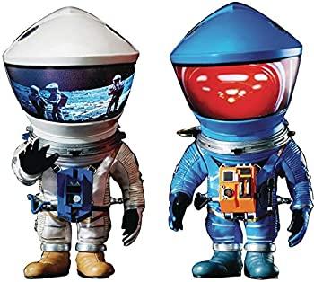 【中古】【輸入品・未使用未開封】Star Ace Toys 2001:宇宙オデッセイ:DF 宇宙飛行士 ブルー&シルバー デフォ リアルソフトビニール像 2パック画像