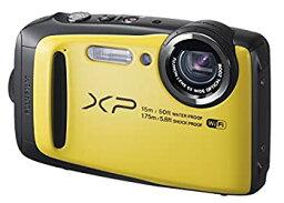 【中古】【輸入品日本向け】FUJIFILM デジタルカメラ XP90 防水 イエロー FX-XP90Y