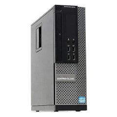 【中古】大容量新品SSDDELLOPTIPLEX9010SFFCorei737703.4GHz4コアメモリ8GB512GBWindows10LibreOffice中古デスクトップ省スペース本体