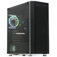 【中古】美品ゲーミングPC新品NVMeSSD自作機GeForceGTX1660SUPER第9世代Corei59500F6コアメモリ16GB512GBWindows10LibreOffice虹色LED中古パソコンデスクトップ本体