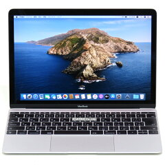 【中古】状態良AppleMacBook10.12017シルバーRetina12インチCorem37Y321.2GHzメモリ8GBSSD256GBWebカメラJISキー日本語キー中古パソコンノートパソコンノートPC本体A1534MNYF2J/AモバイルテレワークOS変更オプションあり