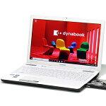 【中古】メモリ16GB新品SSD東芝dynabookT551/58CBCorei72630QM2.0GHz4コア8スレッドBlu-ray15インチWindows10LibreOffice無線LANWebカメラテンキー中古パソコンノートパソコン本体白ホワイト