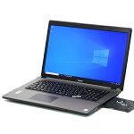 【中古】美品大画面17インチメモリ16GB新品SSD512GBiiyamaIN7i-17H7120-i7-NSBGeForce940MCorei74710MQ4コア8スレッドWindows10フルHDLibreOffice無線LANWebカメラBluetoothテンキー中古パソコンノートパソコン本体