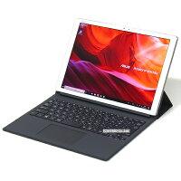 【中古】美品2-in-1ASUSTransBook3T305CA超高精細液晶Corei5メモリ8GBSSD256GB12インチWindows10LibreOffice中古タブレットノートパソコン本体