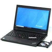 【中古】新品SSDメモリ8GBLenovoThinkPadL560第6世代Corei515インチ240GBWindows10テンキーLibreOffice無線LANWebカメラBluetooth中古パソコンノートパソコン本体黒ブラック法人