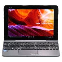 【中古】2in1タブレットASUSTransBookT101HAAtomx5-Z83504コアメモリ2GBeMMC64GBWindows1010インチ無線LANLibreOffice中古パソコンWindowsタブレット本体