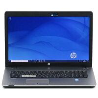 【中古】大画面17インチ大容量新品SSDHPProBook470G2第5世代Corei3メモリ8GBRadeonWindows10無線LANWebカメラBluetoothテンキーLibreOffice中古パソコンノートパソコン本体