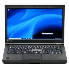 【中古】大容量SSD高解像度液晶LenovoThinkPadT440p第4世代Corei52.6GHzメモリ8GB新品512GBWindows1014インチWebカメラBluetooth無線LANLibreOffice中古パソコンノートパソコンノートPC本体黒ブラック法人ビジネステレワーク