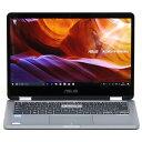【中古】美品 ノートPC&Windowsタブレット ASUS VivoBook Flip 14 14インチ Windows10 無線LAN Webカメラ Bluetooth LibreOffice 中古パソコン ノートパソコン 本体の商品画像