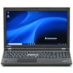 【中古】なめらかフルHDメモリ16GB新品SSDLenovoThinkPadL540Corei74600M2.9GHz256GBWindows1015インチ無線LANBluetoothテンキーLibreOffice中古パソコンノートパソコンノートPC本体黒ブラック法人ビジネス