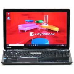 【中古】メモリ16GB大容量新品SSD東芝dynabookT553/67JBCorei74700MQ2.4GHz4コアBlu-ray512GBWindows10無線LANWebカメラBluetoothテンキーLibreOffice中古パソコンノートパソコンノートPC本体黒ブラック家庭用個人向けテレワーク在宅