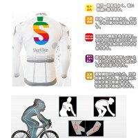 【送料無料】サイクルウェア男性夏用サイクルジャージ自転車ウェア半袖ウエア