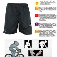 【送料無料】サイクルウェア/男性夏用/サイクルパンツ/自転車ウェア/サイクリングパンツ/半袖ウエア